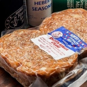 Heberts Specialty Meats chicken burger steaks